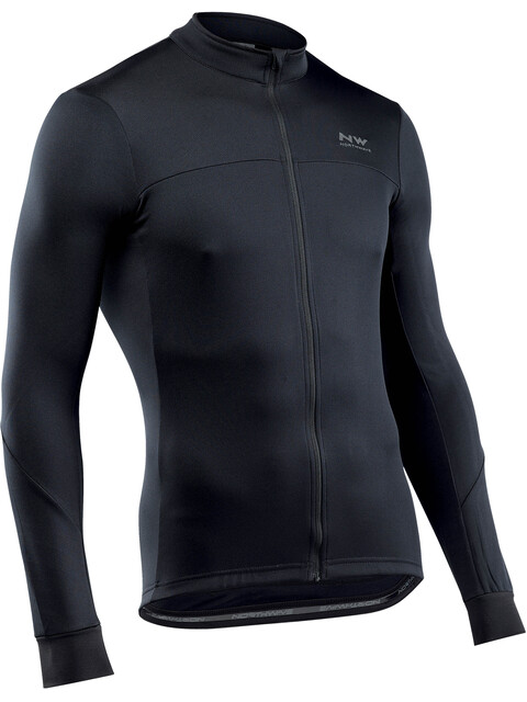 Northwave Force 2 Full Zip Longsleeve Jersey Men black